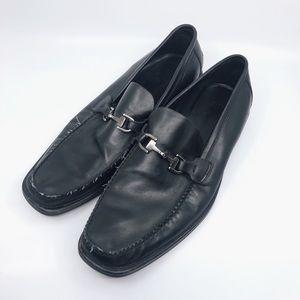 Sleek Black Hugo Boss Men's Loafers
